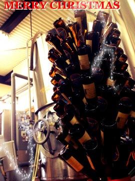 クリスマス ナギサビール ボトル
