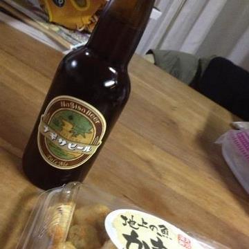 ナギサビール 蒲鉾 天ぷら