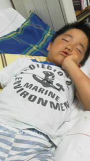 夏休み 昼寝 少年野球