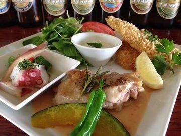 南紀白浜 ナギサビール サービスランチ