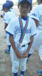 少年野球 銀メダル 準優勝
