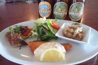地ビールの日 南紀白浜 ナギサビール サービスランチ