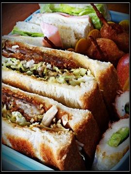 お弁当 サンドイッチ カツサンド
