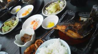 煮魚 浜焼き 地魚