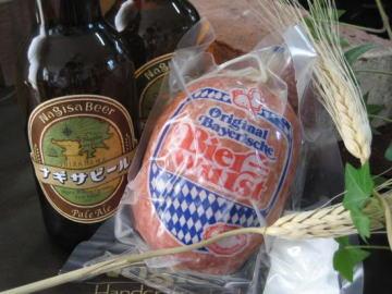 南紀白浜 ナギサビール ソーセージ