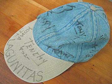 南紀白浜 ナギサビール 帽子