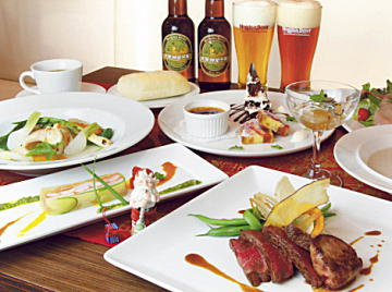 南紀白浜 ナギサビール クリスマス ディナー