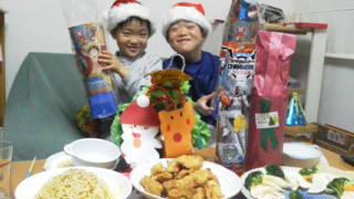 クリスマス パーティ 乾杯